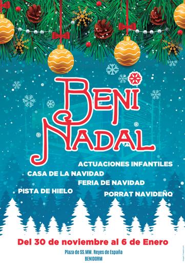 Fiestas en Benidorm Programa de Navidad