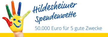 Hildesheimer Spendenwette logo