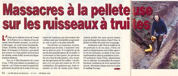 Extrait de la revue : Pêcheur de France - N°151 - 1996