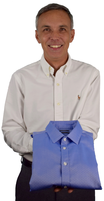 Portrait of Gabor the dry cleaner