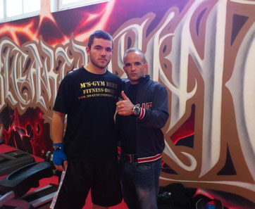 Boxing Team Ittigen 2014 in Frenkendorf / Manuel Pfister und Marco Spath (Coach) @ M's-Gym Bern