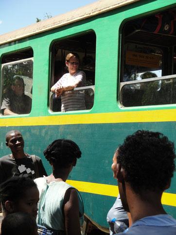 Train reliant Manakara et Fianarantsoa