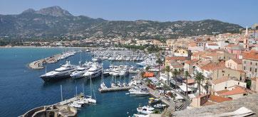 Hafen Calvin Korsika