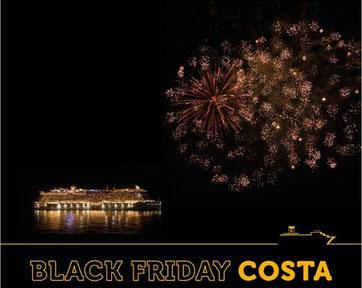 Black Friday Angebote von Costa Kreuzfahrten