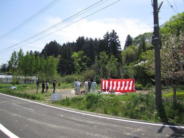 地鎮祭20150503