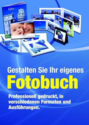 Fotobuch. Professionell gedruckt, in verschiedenen Formaten und Ausführungen