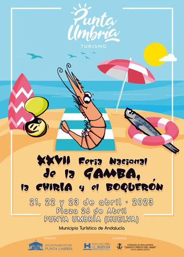 Feria Nacional de la Gamba, la Chirla y el Boquerón en Punta Umbría