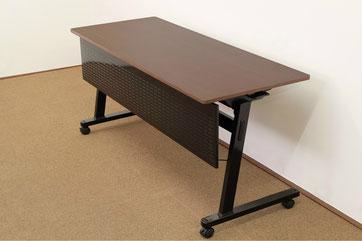 ウォールナットフラップテーブル