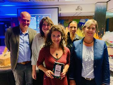 von links nach rechts: Marcel Robens, Katrin Boland, Sandra Åslund, Nicole Lücke, Christina Diehr