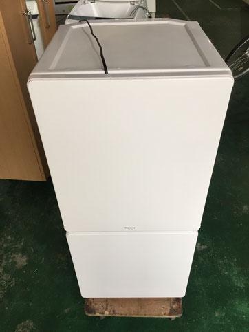 MORITAの2ドア冷蔵庫