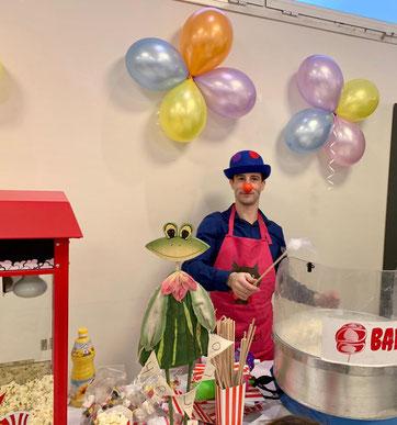 animation barbapapa anniversaire bar mitsva mariage association clown