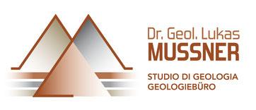 Geologiebüro Lukas Mussner Studio di Geologia Geologe Geologo Geologisches Gutachten relazione geologica