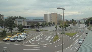 グランドホテル白山のある松任駅前