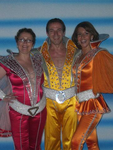 ... mit Iris Schuhmacher & Cusch Jung