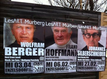 Lesungen @ Werkstatt Murberg