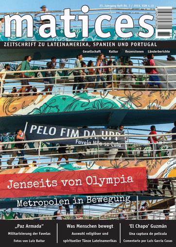 Coverbild Ausgabe 86: Jenseits von Olympia