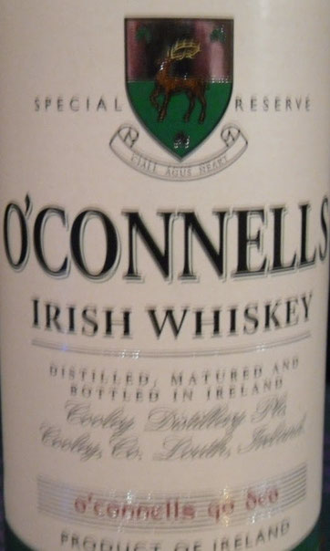 O`Connells Irish Whiskey