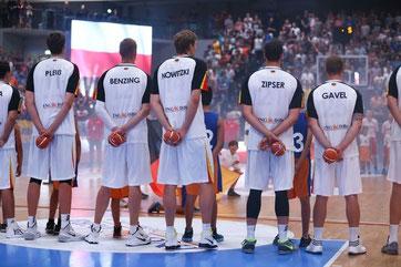 DBB Nationalteam in Hamburg beim Supercup