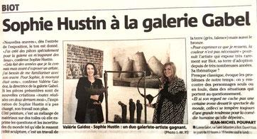 Exposition Sophie Hustin galerie gabel-bronze pièces uniques cote d'azur monaco sculpture
