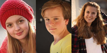 Amona, Philipp Franck, Lilli Reulein. © Martin Douglas