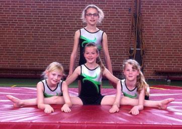 de 4 Spirit meisjes
