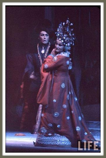 Calaf - TURANDOT - di G. Puccini - con B. Nilsson - (New York 1961)