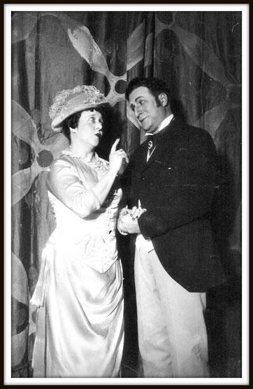 Il Conte Gil - Il segreto di Susanna, con Isabel Marengo  - Montevideo Auditorium del Sodre 1936