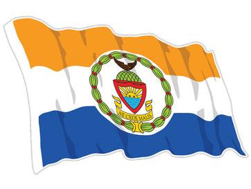 The Bronx Crest Flag Sticker
