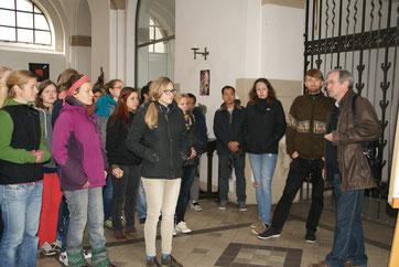 """Besuchergruppe der Styler Missionsschwestern """"Missionar/innen auf Zeit"""""""