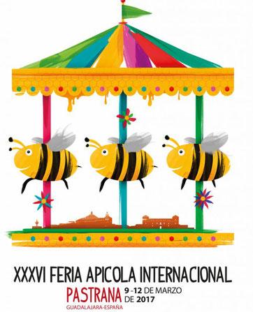 Programa de la Feria Apicola en Pastrana