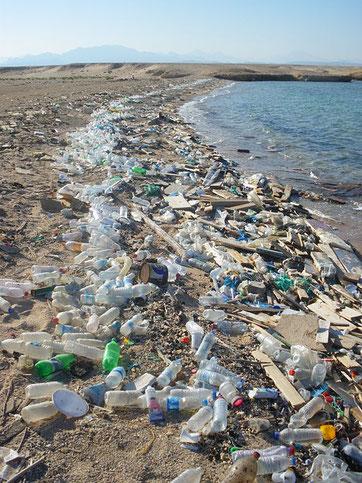 Strand am Roten Meer in Ägypten