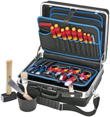 Knipex Montagekoffer, Werkzeugkoffer ab 200 Euro,