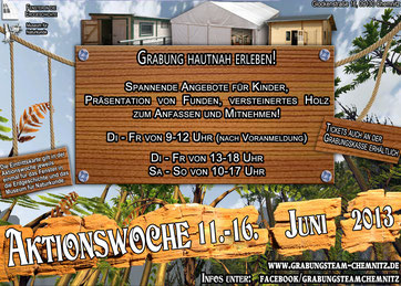Grabung Chemnitz Aktionswoche