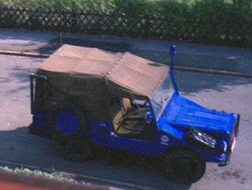 DKW Munga THW 1968