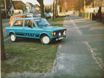 FIAT 128, 45 PS, aber mächtiger Renntrimm...