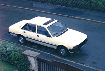 Peugeot 505 ti 1982 - damals eine fast perfekte Reiselimousine