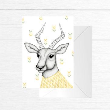 Carte antilope