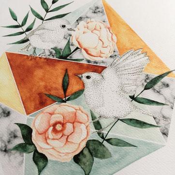 Carte oiseau
