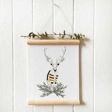 Affiche caribou