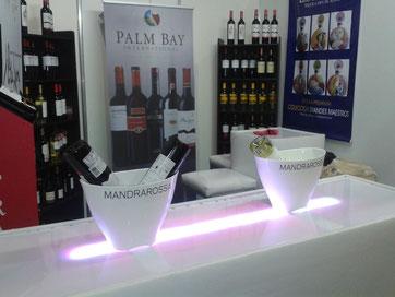 Barra Lounge Iluminadas