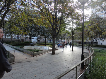Place Souham , quartier Nationale Clisson Paris 13
