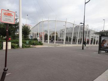 Porte de Vanves, Citystade au dessus du périphérique Paris 14