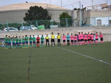 Infantil A C.D. Pablo Iglesias 2-2 Colegio Salgui E.D.E. A, Polideportivo Carrús (Elche) / 4ª jornada. Temporada 2019-2020