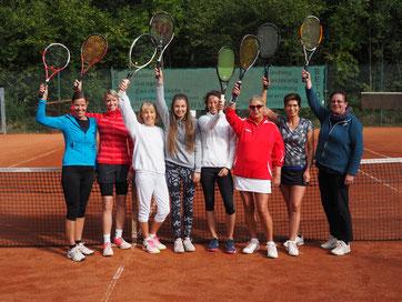 VM Damen Doppel