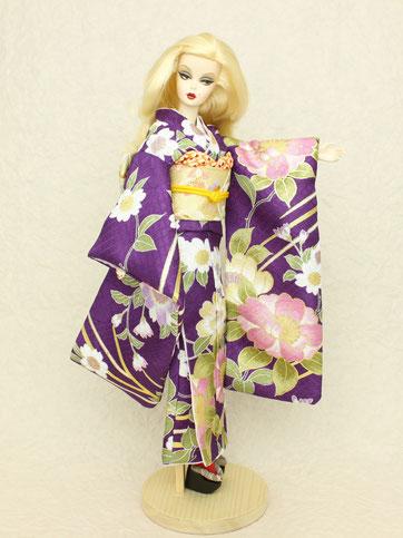 Barbie kimono,Kimono doll,Silkstone