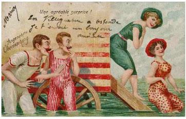 Bild: Postkarte aus Oostende