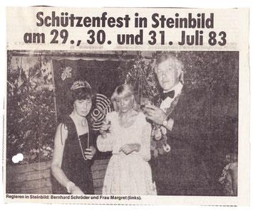 NOZ 83: Königin Maria Giese, Carla Lodders, König Bernhard Schröder