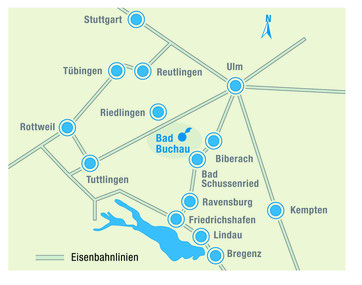 Anfahrt NABU-Naturschutzzentrum Federsee