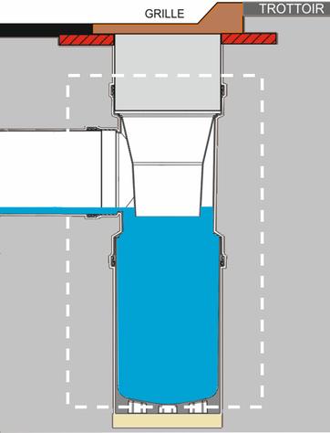 Plan de l'avaloir de chaussée SOGEMAP