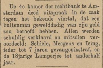 Venloosche courant 26-01-1889